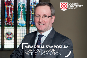 CV6 CEO Speaks at Patrick Johnston QUB Memorial Symposium